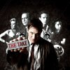 """Photo -  At front center, Tom Hardy, back row, from left, Kierston Wareing, Brian Cox, Shaun Evans and Charlotte Riley of """"The Take"""" - Photo Provided by Encore"""