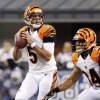 Photo -   Cincinnati Bengals quarterback Zac Robinson throws against the Indianapolis Colts in the second half of an NFL preseason football game in Indianapolis, Thursday, Aug. 30, 2012. (AP Photo/AJ Mast)