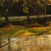 Dry creek turned into river near 2nd and Coltrane in Edmond, OK Nov. 7th, 2011 photo by Jessika Kropf