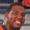 OKLAHOMA STATE UNIVERSITY / OSU / COLLEGE FOOTBALL PLAYER: Russell Okung ORG XMIT: 0909052214355765