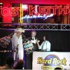 Toby Keith accepts a Cherokee blanket from Chief Chad Smith and Bobbie Gayle at the grand opening of the Hard Rock Casino and Hotel in Tulsa, OK, Aug. 3, 2009. Stephen Pingry/Tulsa World