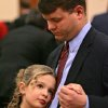 Brandon Hopper, of Norman, and his daughter Taylor, 8, dance during the Norman Parks and Recreation Department\'s 8th annual Daddy Daughter Dance in Norman on Sunday, Feb. 10, 2008. By John Clanton, The Oklahoman