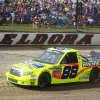 Photo - Matt Crafton runs a qualifying lap for the inaugural Mudsummer Classic NASCAR Trucks Series auto race at Eldora Speedway, Wednesday, July 24, 2013, in Rossburg, Ohio. (AP Photo/The Dayton Daily News, Greg Lynch)  LOCAL PRINT OUT; LOCAL TV OUT; WKEF-TV OUT; WRGT-TV OUT; WDTN-TV OUT