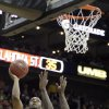 Oklahoma\'s Brian Williams (4) shoots over Missouri\'s Ricardo Ratliffe (10) during the Big 12 tournament men\'s basketball game between the Oklahoma State Cowboys and Missouri Tigers the Sprint Center, Thursday, March 8, 2012 Photo by Sarah Phipps, The Oklahoman