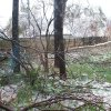 South Tulsa Ice Damage and whats left of a swing set! Community Photo By: Becky Brittain Submitted By: be, edmond