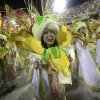 Japanese performers from the Mangueira samba school, parade during carnival celebrations at the Sambadrome in Rio de Janeiro, Brazil, Tuesday, Feb. 12, 2013. While non-Brazilians have long shelled out hundreds of dollars for the right to dress up in over-the-top costumes and boogie in Rio\'s samba school parades, which wrapped up Monday in an all-night extravaganza, few in the so-called