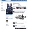 This screen shot provided by the Russian social network Vkontakte shows a page set up by Hollywood star Tom Cruise. Tom Cruise has become the first Hollywood star to set up a page on the Russian social network Vkontakte. The