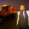 Photo - Mayor of Atlanta Kasim Reed checks on progress at the Public Works North Avenue Facility as Atlanta prepares for another approaching winter storm on Monday, Feb. 10, 2014, in Atlanta.  (AP Photo/ Atlanta Journal & Constitution, Curtis Compton)