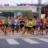 Runners start the Oklahoma City Memorial Marathon, heading south on Harvey Ave., in Oklahoma City, Sunday, April 28, 2013. Photo by Nate Billings, The Oklahoman