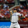 Photo - San Diego Padres starting pitcher Tyson Ross throws during the first inning of a baseball game against the St. Louis Cardinals Friday, Aug. 15, 2014, in St. Louis. (AP Photo/Scott Kane)