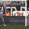 Photo - Atalanta's Giacomo Bonaventura, right, scores during a Serie A soccer match against Sampdoria in Bergamo, Italy, Sunday, March 16, 2014. (AP Photo/Felice Calabro')