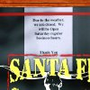 Many businesses either closed or opened for reduced hours during this week\'s winter storm. This sign was taped to the front door of the Santa Fe Cattle Co. restaurant on SE 29 in Midwest City, Friday afternoon, Jan. 29, 2010. Photo by Jim Beckel, The Oklahoman