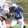 Photo - Oklahoma State offensive line commitment Chris Grishby. PHOTO COURTESY BLINN SPORTS INFORMATION