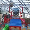 Photo - Inside the Water-Zoo, a new indoor water park being built in Clinton.   - PROVIDED