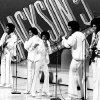 FILE - In this Sept. 15, 1972 file photo, The Jackson 5, from left, Tito, Marlon, Michael, Jackie and Jermaine perform during the