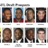 ** FOR USE AS DESIRED WITH NFL DRAFT STORIES ** FILE - In these university handouts and file photos top college football prospects for the 2009 NFL Draft are shown. They are: Derek Pegues, Brandon Pettigrew, BJ Raji, Duke Robinson, Brian Robiskie, Louie Sakoda, Mark Sanchez, Jason Smith, Alphonso Smith, Andre Smith, Brennan Southerland and Matthew Stafford. (AP Photo) ** MAGS OUT. NO SALES, EDITORIAL USE ONLY ** ORG XMIT: NY158