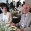 Jeaneen and Bob Naifeh have dinner. (Photo by Helen Ford Wallace).