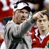 Nebraska coach Bo Pelini yells at his team during the second half of the college football game between the University of Oklahoma Sooners (OU) and the University of Nebraska Cornhuskers (NU) on Saturday, Nov. 7, 2009, in Lincoln, Neb. Photo by Chris Landsberger, The Oklahoman