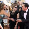 Sofia Vergara, left, and Ty Burrell, right, of