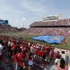 Attendance was low, especially in the student section, during Oklahoma's matchup against Tulsa on Sept. 14. Photo by Steve Sisney, The Oklahoman archives