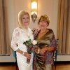 Judy Love and Ann Johnstone were Anniversary Event Co-Chairmen. (Photo by Helen Ford Wallace).