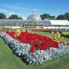 Photo - This undated photo provided by Glasgow City Marketing Bureau shows the Botanic Gardens in Glasgow, Scotland, an internationally renowned garden in the heart of Glasgow's West End. It includes more than 50 acres of formal gardens, woodland walks and glasshouses filled with plants. It's open daily and is free to visit. (AP Photo/Glasgow City Marketing Bureau)