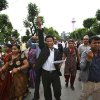 Photo -   Nepalese lawmakers from various political parties chant slogans demanding timely constitution draft inside the constitution assembly building in Katmandu, Nepal, Sunday, May 27, 2012. Nepal's highest court Thursday ordered that the government finish the country's long-awaited new constitution by the Sunday deadline.(AP Photo/Niranjan Shrestha)
