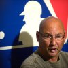 Photo - Cleveland Indians manager Terry Francona talks to reporters during a media availability at baseball's winter meetings in Lake Buena Vista, Fla., Wednesday, Dec. 11, 2013.(AP Photo/Phelan M. Ebenhack)