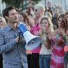Ryan Seacrest at the American Idol auditions at the Chesapeake Energy Arena in downtown Oklahoma City, Friday, July 20 , 2012. Photo By David McDaniel/The Oklahoman David McDaniel - The Oklahoman