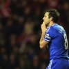 Photo - Chelsea's captain Frank Lampard gestures after failing to score a goal during their English League Cup quarter final soccer match against Sunderland at the Stadium of Light, Sunderland, England, Tuesday, Dec. 17, 2013. (AP Photo/Scott Heppell)