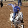 Clayton Woeste, from St. Cloud, FL, in the Calf Roping at the International Finals Youth Rodeo in Shawnee, Friday, July 11, 2014. Photo by David McDaniel, The Oklahoman