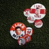 ELECTION / POLITICAL CAMPAIGN BUTTONS: 2012 Football tab cover, Friday, Aug. 17, 2012. Photo by Sarah Phipps, The Oklahoman