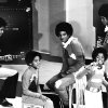 MICHAEL / JACKIE / MARION / JERMAINE / TITO: The Jackson Five ... in Tulsa Friday. Photographer unknown, photo not dated. Published in The Daily Oklahoman 07/20/1972