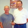 Lonnie Fitzgerald of Lonnie\'s Plumbing was recognized by the City of Edmond with an Excellence Award as part of the City\'s Building Excellence in Edmond program. Pictured are Lonnie Fitzpatrick and Ed Steiner, Edmond\'s director of Building Services. Community Photo By: Richard Gabel Submitted By: Claudia, Edmond