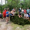 Photo - In this March 2013 photo provided by Chuck Morlock, a group of Sierra Club volunteers pose for a photo at the Salt Spring Recreation area in the Ocala National Forest, east of Ocala and Silver Springs, Fla. The volunteers were removing invasive hydrilla plants in Salt Spring. (AP Photo/Chuck Morlock)