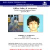 This image provided by the Boston Regional Intelligence Center shows Dzhokhar A. Tsarnaev, one of the suspects in the Boston Marathon bombings. Authorities say Tsarnaev is still at large after he and another suspect — both identified to The Associated Press as coming from the Russian region near Chechnya — killed an MIT police officer, injured a transit officer in a firefight and threw explosive devices at police during their getaway attempt in a long night of violence into the early hours of Friday, April 19, 2013. The second suspect, who has not yet been identified, was killed in a shootout with police. (AP Photo/Boston Regional Intelligence Center)