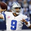 Photo -   Dallas Cowboys quarterback Tony Romo (9) passes the ball against the New York Giants during the first half of an NFL football game, Sunday, Oct. 28, 2012, in Arlington, Texas. (AP Photo/Tony Gutierrez)