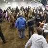 MOUNTED PATROL: Oklahoma County Deputies and their horses receive training in crowd control at the State Fair Park in Oklahoma City, OK, Saturday, March 2, 2013, By Paul Hellstern, The Oklahoman