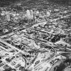 OKLAHOMA CITY / SKY LINE / OKLAHOMA / AERIAL VIEWS / AERIAL PHOTOGRAPHY / AIR VIEWS: No caption. Photo undated and unpublished. Photo arrived in library on 05/10/1937.