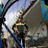 FILE - In this Dec. 2, 2008, file photo, Lance Armstrong stands in Livestrong apparel before a training session with the Astana cycling team in Los Cristianos, on the Canary Island of Tenerife, Spain. The cyclist was stripped of his Tour de France titles, lost most of his endorsements and was forced to leave the board of his foundation last year after the U.S. Anti-Doping Agency issued a damning, 1,000-page report that accused him of masterminding a long-running doping scheme. (AP Photo/Arturo Rodriguez, File)