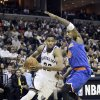 Memphis Grizzlies\' Rudy Gay (22) drives past New York Knicks\' J.R. Smith (8) during the second half of an NBA basketball game in Memphis, Tenn., Friday, Nov. 16, 2012. The Memphis Grizzlies defeated the New York Knicks 105-95. (AP Photo/Danny Johnston)