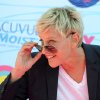 Ellen DeGeneres arrives at the Teen Choice Awards on Sunday, July 22, 2012, in Universal City, Calif. (Photo by Jordan Strauss/Invision/AP)