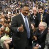 Rev. Jesse Jackson is seen as he arrives at the Democratic National Convention in Charlotte, N.C., on Tuesday, Sept. 4, 2012. (AP Photo/Jae C. Hong) ORG XMIT: DNC778