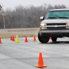 Eight high school students participated in a collision avoidance training course put on by the Oklahoma City Police Department this weekend. The students, 16 to 19, received four hours of classroom instruction before taking to the training course for eight hours Saturday, Feb. 18, 2012, at the Oklahoma County Sheriff's training facility in northeast Oklahoma County. This the first time the course has been offered in Oklahoma, said Paul Burris, director and founder of the Florida-based nonprofit the National Traffic and Safety Academy. Photo by Jim Beckel, The Oklahoman