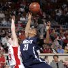 Star Spencer\'s Jasmine Jackson (30) and Cache\'s Taylor Thompson (33) fight for a rebound on Friday, March 7, 2008, at the State Fair Arena in Oklahoma City, Okla. BY SARAH PHIPPS, THE OKLAHOMAN