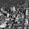 OKLAHOMA CITY / SKY LINE / OKLAHOMA / AERIAL VIEWS / AERIAL PHOTOGRAPHY / AIR VIEWS: no caption. Photo undated and published on 02/24/1939 in The Oklahoma City Times and on 02/16/1941 in The Daily Oklahoman and on 03/13/1942 in The Oklahoma City Times.