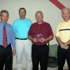 Dave Osborn of Heartland Homes was recognized by the City of Edmond with an Excellence Award last week at the first annual Building Excellence in Edmond Breakfast. Pictured are: Clay Coldiron, Public Works Director; Ed Steiner, Director of Building Services; Dave Osborn and Edmond City Manager Larry Stevens. Community Photo By: Claudia Deakins Submitted By: Claudia, Edmond
