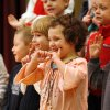 Terra Brown and fellow kindergarteners present a Valentine Concert at Madison Elementary School in Norman, Oklahoma on Tuesday, February 12, 2008. BY STEVE SISNEY, THE OKLAHOMAN