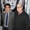 Screenwriters Alessandro Tanaka, left, and Brian Gatewood pose at the premiere of their film,