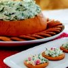 Bread Bowl Spinach and Artichoke Dip from